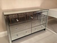 Glass drawers