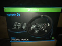 Logitech G920 Driving Force, used