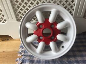 Classic mini alloy wheels very good condition x4