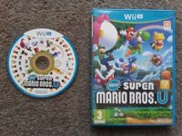 New Super Mario Bros for console wii U