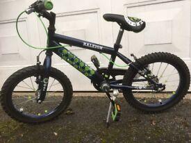 "Boy's Raleigh striker bike 16"""