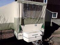 pennine trailer tent for sale very good condition for age £ 550 or vno