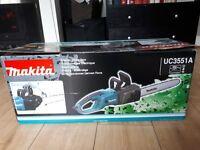 Electric chainsaw Makita uc3551a 35cm/14 inch bar 110v