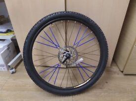 27.5 inch, 650b Front mountain Bike Disc Brake Wheel