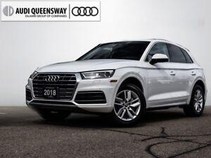 2018 Audi Q5 2.0T Komfort, Demo Savings, Carplay & Android Auto