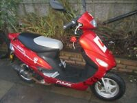 pulse scout 50cc starts runs and rides running project