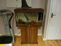 Juwel aqua 120l fish tank and stand
