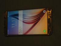 Samsung Note 5 unlocked fully working screen has cracks.