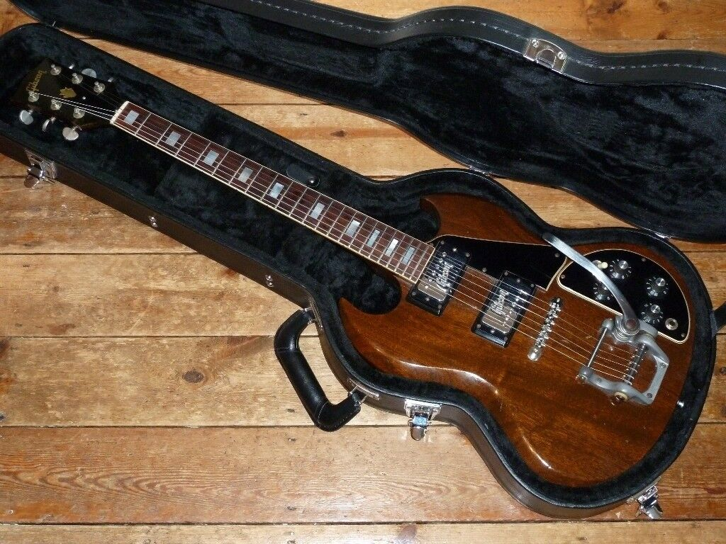 Gibson SG Deluxe 1972 original Gibson embossed pickups