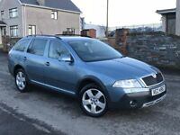 2008 Skoda Octavia Scout Estate 4x4 long MOT 4 wheel drive not Passat A4 MONDEO 320