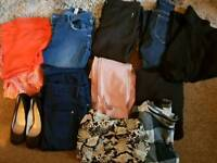 Ladies clothes size10 and 12