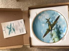 Collection Pf WW2 Collectable Aircraft Plates