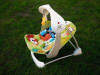 Fisher-price rainforest baby swing seat
