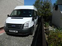 MINIBUS for hire with driver
