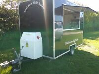 """catering trailer 10ftx6ft6"""" superb condition fully equiped all new equipment."""