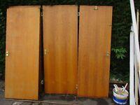 4 Free internal doors.