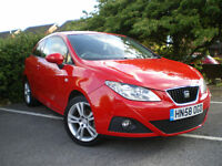 SEAT IBIZA 1.4 16V Sport Coupe 5 speed 3dr * COVERD 73K *12 MONTHS MOT * 6 Months WARRANTY