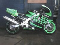 Kawasaki zx6r 1997 track bike 🏍🏍