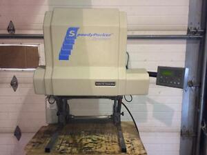 Machine à emballage à mousse Speedy packer de Sealed air - Sealed air Speedy packer foam packing machine