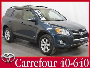 2012 Toyota RAV4 Limited GPS+Cuir+Bluetooth+Toit Ouvrant