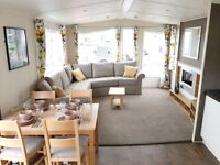 New 2 Bedroom 2017 Static Caravan for Sale at Camber Sands, Fully double glazed & Centrally heated