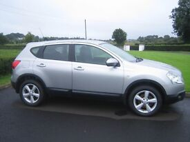 2008 Silver Nissan Qashqai, 2.0L DCI, 6 speed, MOT'd to 10/1/18, 88250 miles, one owner from new