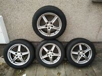 Winter Tyres and alloy wheels