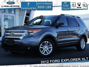 2012 Ford Explorer XLT AWD **7 PLACES*HITCH*ECRAN**