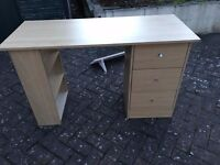 Drawer Dressing Table - Oak