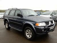2006 mitsubshi shogun sport petrol only 52000 miles, motd march 2017, 1 owner from new