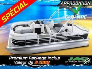2016 Legend Boats Ponton Enjoy All Mercury 25 EL Bateau pêche **