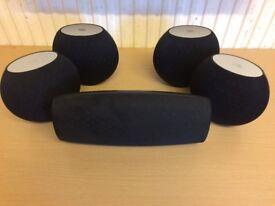 JBL CS460 Home Cinema Surround Speakers, Crisp Clear Unique Sound, Excellent Working Condition.