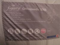Fogarty Orthopaedic 2000 Pocket Spring Mattress King Size - As New