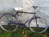 TOTALLY ORIGINAL VINTAGE MENS PUCH ELIGANCE 3 SPEED BIKE