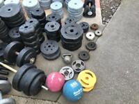 Joblot of Weights