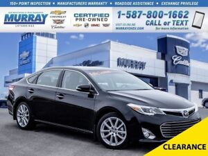 2014 Toyota Avalon Limited**Fully Loaded!  Low kms!**