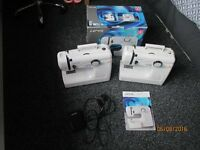 2 x Lervia 564 sewing machines
