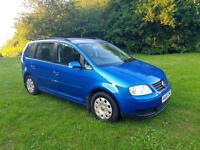 Volkswagen touran 1.6 fsi 2006 7 seater not zafira galaxy verso corolla sharan Alhambra c4