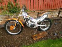 Beta 250 trials bike road registered