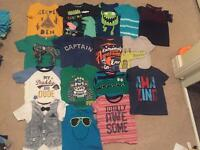 **43 Items**. Boys Clothing bundle size 1-2 years