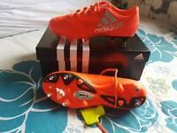 Adidas X 16.3 SG football boots size 7