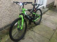 Apollo gradient mountain bike for sale , nearly new
