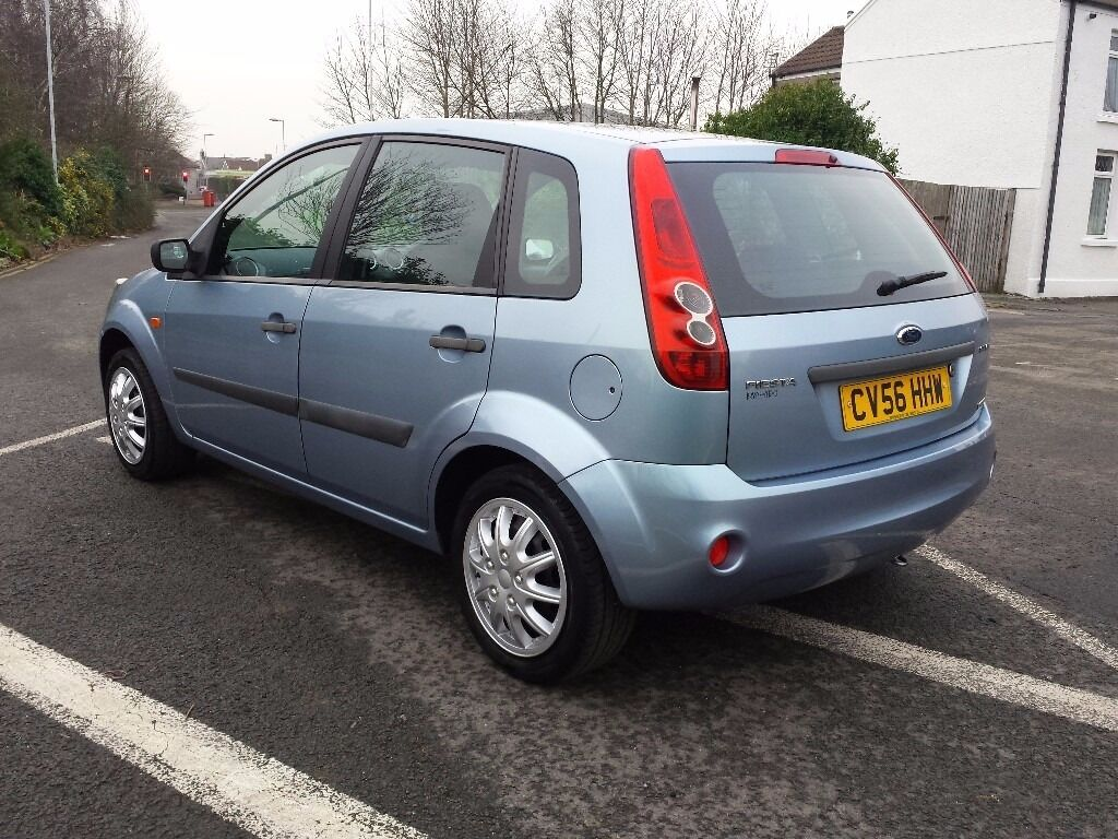 2007 ford fiesta style 1.4 tdci diesel only 65000 with service history part exchange welcome