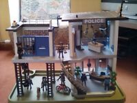 PLAYMOBIL Police Station with Additions