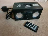 Ipod/radio player