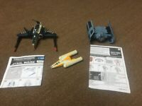 3 Star Wars toys - 2 Transformers toys and another Star Wars toy