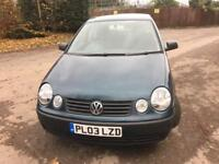 Volkswagen Polo 1.4 petrol automatic