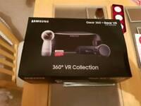 Samsung gear vr + 360 camera