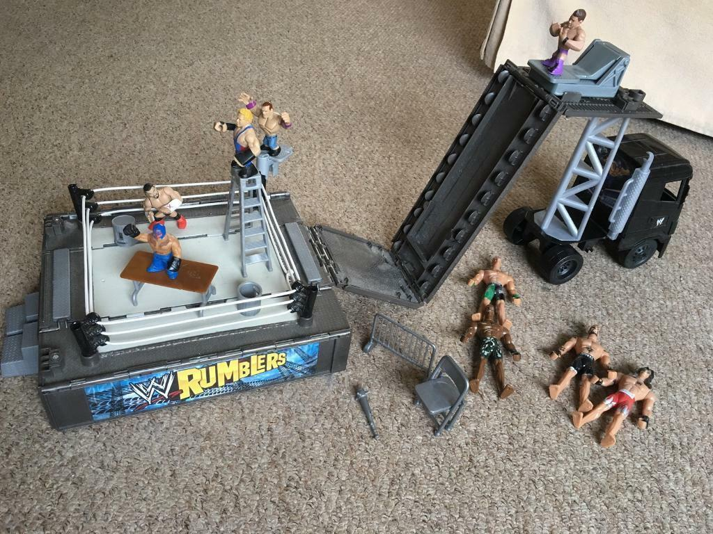 WWE Rumblers set