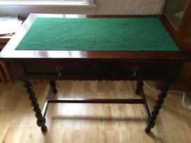 Lovely antique barley twist leg table